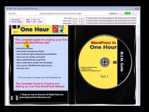 Creating CD and DVD Cover Art for Kunaki Fulfillment - YouTube
