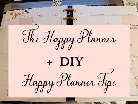 Happy Planner + DIY Tips