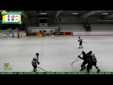 Bredenbury Tundra vs Regina River Rats - QVJHL Semi-Finals - March 4 - Game 2