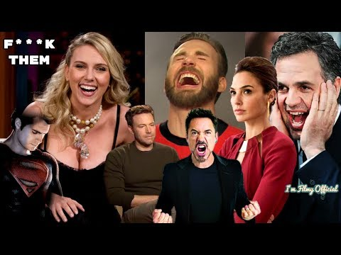 Avengers: Infinity War Cast Continuously Trolls Justice League - Hilarious Trash Talk😂😂