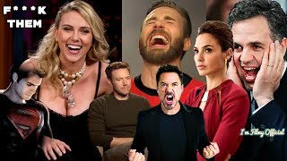 Avengers 4: Endgame Cast Continuously Trolls Justice League - Hilarious Trash Talk😂😂