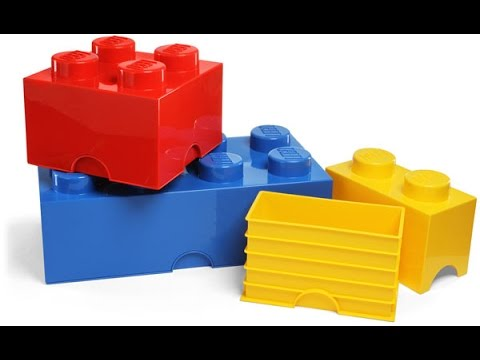 Merveilleux Lego Storage Bricks Review!