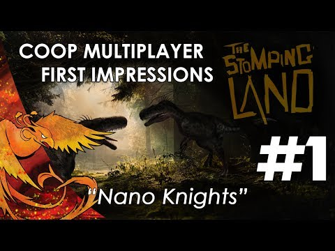 The Stomping Land │ Coop Multiplayer First Impressions │ Part 1 │