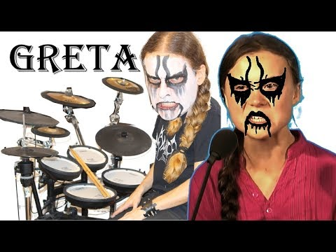 GRETA Thunberg sings BLACK DEATH metal - HOW DARE YOU meme