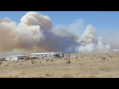 Evacuations ordered as #CarsonMidway fire spreads beyond Ft. Carson property