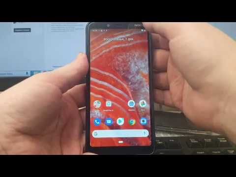 FRP! Nokia 3.1 TA-1104 Сброс аккаунта гугл. Без ПК. Android 9.