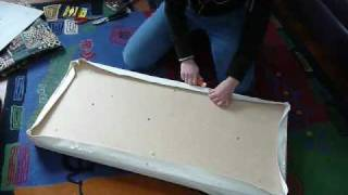 How To: Re-cover A Bench Seat Part 1