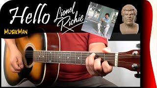 Download HELLO 💘 - Lionel Richie / GUITAR Cover / MusikMan #130