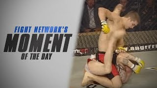 John Hathaway Rains Down Punches at Cage Rage 25 | #TBT Moment of the Day