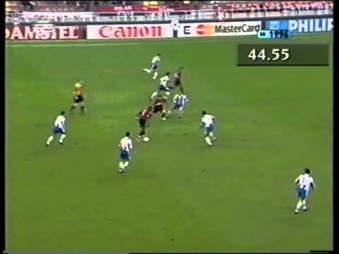 ACMilan 2 - 3 FCPorto [11/09/96 - UCL]