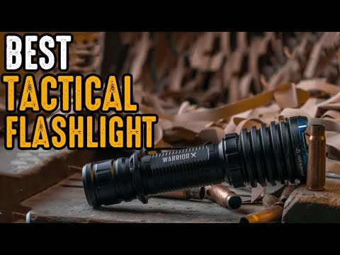 7 Best Tactical Survival Flashlight You Should Have