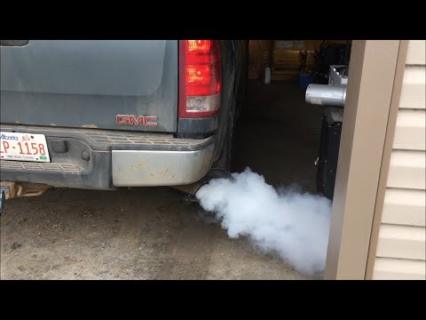 (SOLVED) cold start Blue exhaust smoke problem