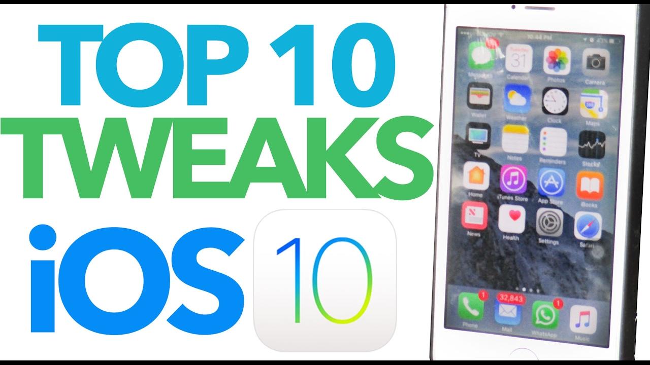 TOP 10 iOS 10 Jailbreak Tweaks