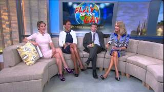 Video Amy Robach - sexy legs in strappy high heels and tight dress - March 7, 2014 download MP3, 3GP, MP4, WEBM, AVI, FLV Agustus 2018