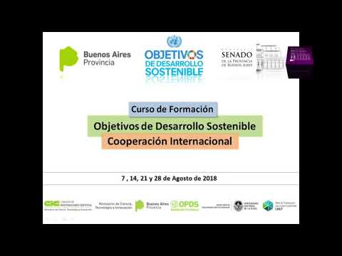 Los Objetivos de Desarrollo Sostenible y la Cooperación Internacional   Curso de Formación