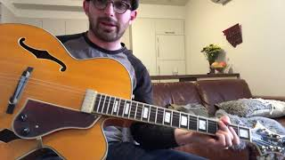 Sunny side of the street - Guitar chord lesson