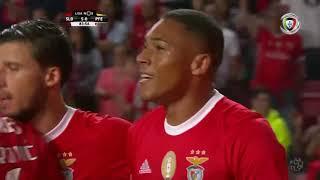 Goal   Golo Vinícius: Benfica (5)-0 Paços de Ferreira (Liga 19/20 #1)