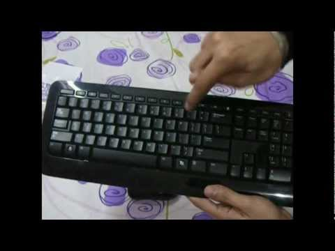 Microsoft Wireless Keyboard Mouse 800 | Unboxing And Review (Subtitles)