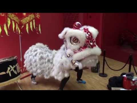 John learns to lion dance