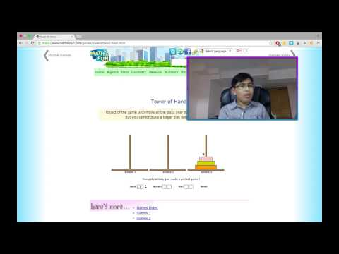 "Algorithms, OS X Apps & Tower of Hanoi: Solving the ""Tower of Hanoi"". Part 1 - Intro"