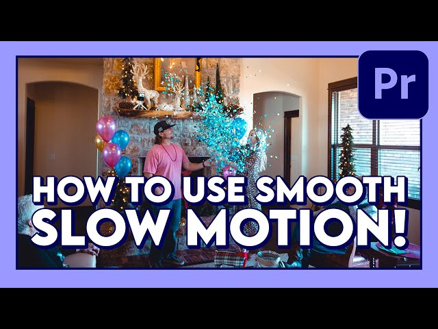 How to Use Smooth SLOW MOTION Effect (Tutorial) / Adobe Premiere Pro