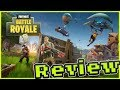 """FORTNITE BATTLE ROYALE"" FIRST LOOK REVIEW"