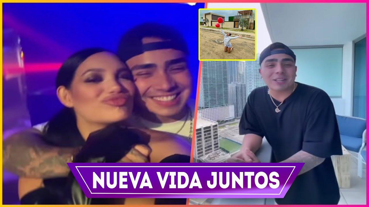 Juntos en Miami Andrea Valdiri y Felipe Saruma Celebran la Nueva Vida solos, con Casa Nueva