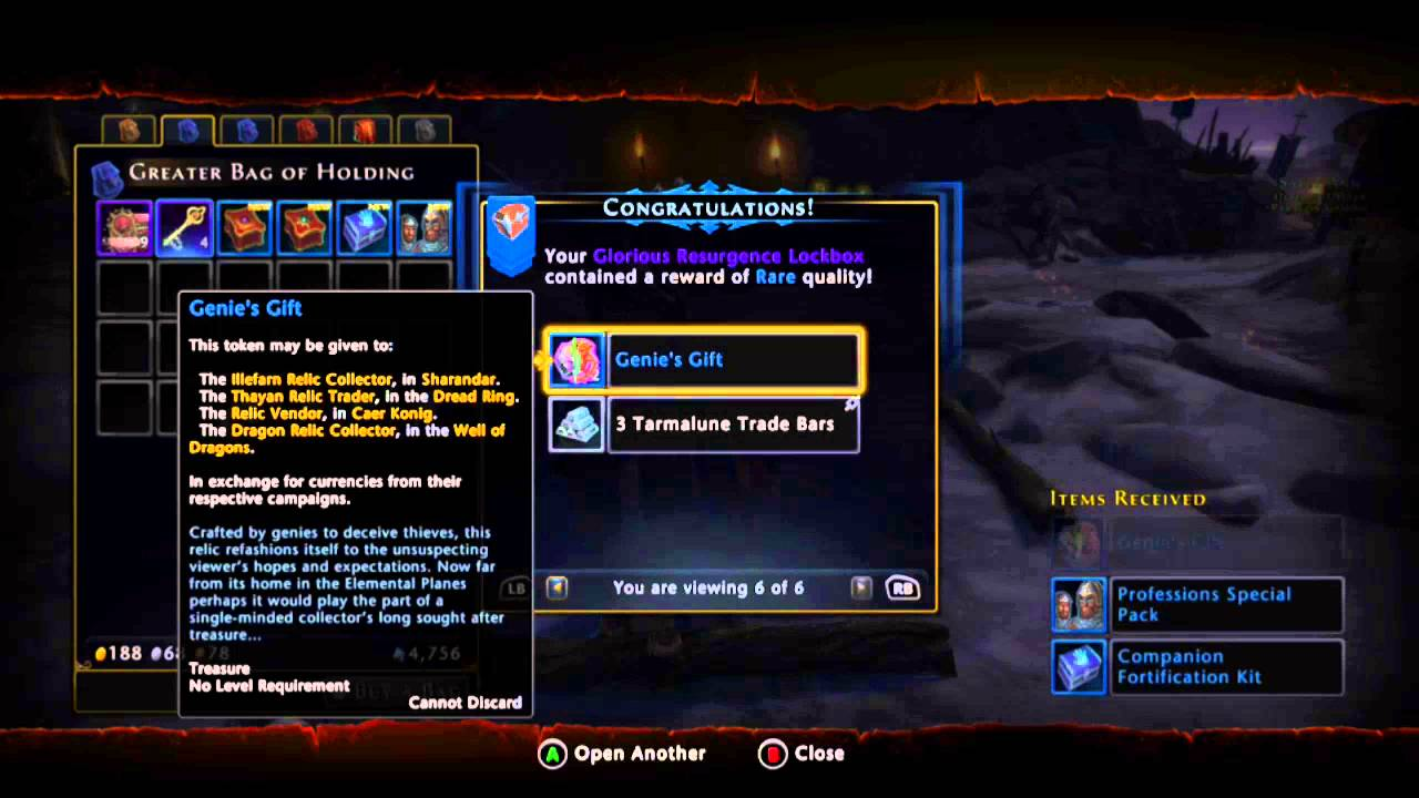 Neverwinter giveaway 7 - WIN the items from 10 the boxes! - YouTube