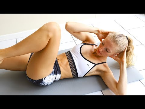 10 min BEGINNER AB WORKOUT (At Home Equipment Free)