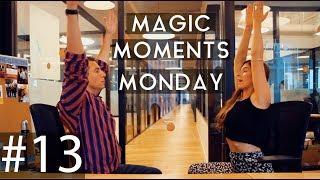 MAGIC MOMENTS MONDAY #13: OFFICE YOGA