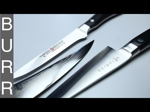 Japanese vs German Shun vs Tojiro vs Wusthof Boning Knives
