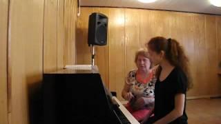 урок по общему фортепиано
