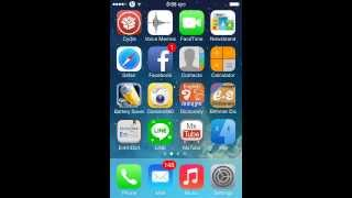 how to install barrel new  on ios7