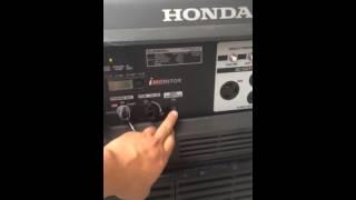 honda eu6500is quiet generator