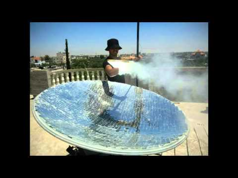 FYP: Solar Parabolic  Dish Concentrator
