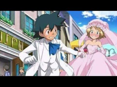 Ash And Serena Wedding