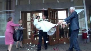 Съемка свадебного клипа,  АПИК студия