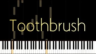 DNCE-Toothbrush Piano Tutorial (Best audio quality on YouTube)