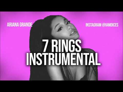 """Ariana Grande """"7 Rings"""" Instrumental Prod. By Dices *FREE DL*"""
