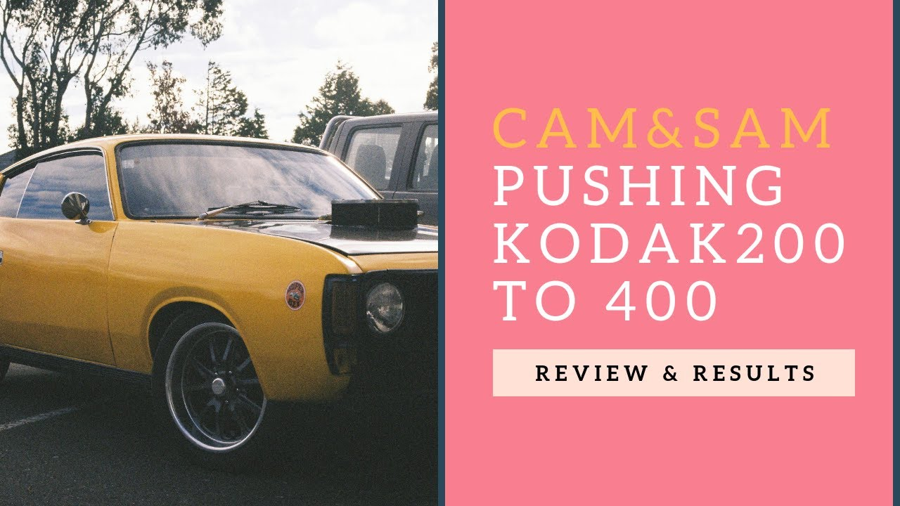 PUSHING KODAK GOLD 200 TO ISO 400 | REVIEW & RESULTS | Cam & Sam