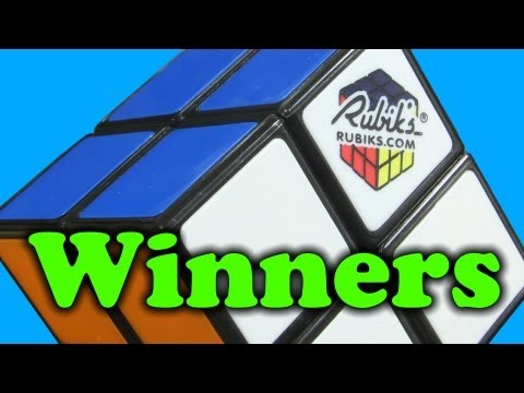 How to Assemble and Dissasemble the Rubik's 2x2  + Winners Announced!