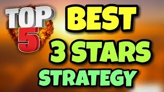 "TOP 5 BEST ""3 STARS"" WAR ATTACK STRATEGY FOR Th9 