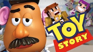 "Potato Head Panic! ""Toy Story"" Ep.2 ""Minecraft Roleplay"""