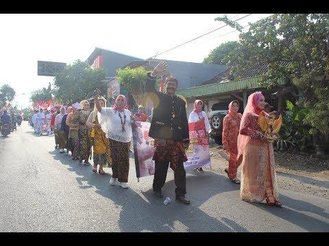 Karnaval Desa Cerme Lor, Kec. Cerme, Kab. Gresik (RW 01) | Menyambut HUT RI Ke 73 | 12/08/2018