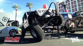 WAYALIFE 2015 SEMA Show Highlights : The One and Only MOBY - A Jeep JK Wrangler Rubicon Unlimited