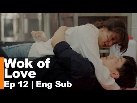 Ryeo Won and Jun Ho's Burning Hug.. is it real fire?!! [Wok of Love Ep 12]