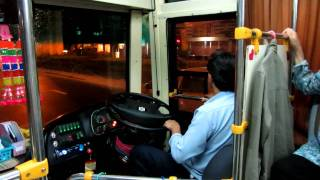 Amazing Thailand - Bangkok Bus Ride with music HD 720P