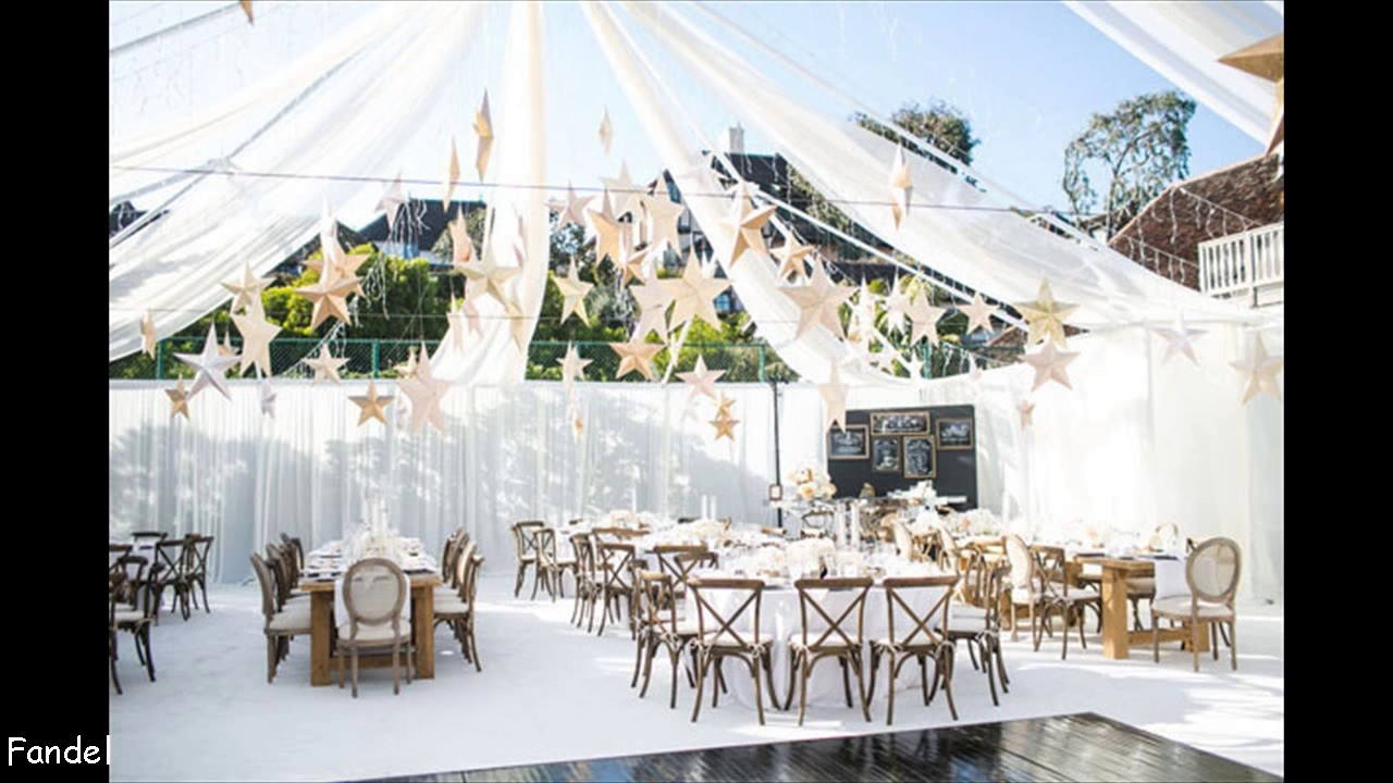 DIY Wedding Tent Decorating Ideas - YouTube