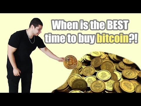 WHEN IS THE BEST TIME TO BUY BITCOIN?!