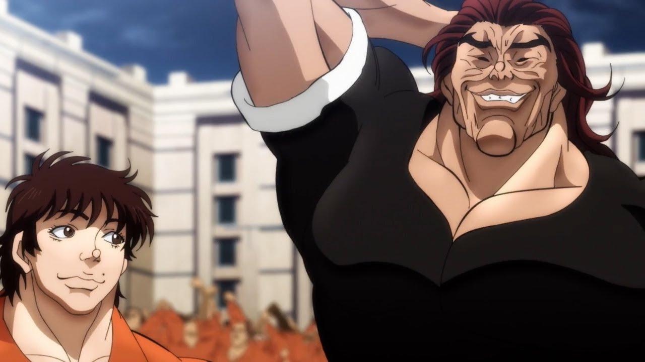 バキ 大擂台賽編! Yujiro recognizes Guevaru as the strongest person on Earth   勇次郎はゲヴァルを地球最強の男と認める